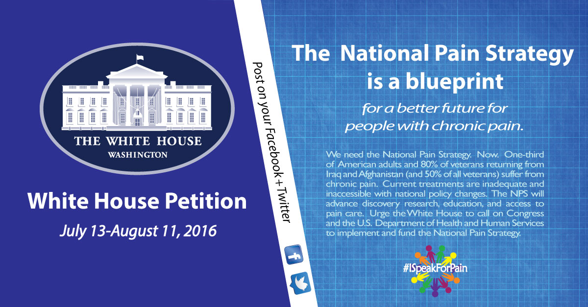 ISFPain white house petition graphic